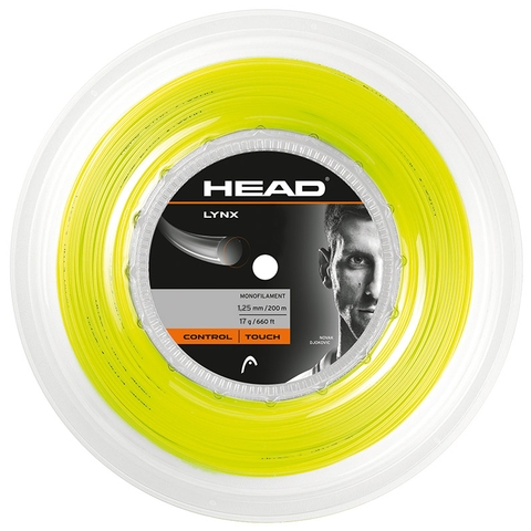 Head Lynx 17 Tennis String Reel - Yellow