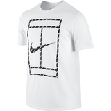 Nike Court French Stripe Men`s Tennis Tee