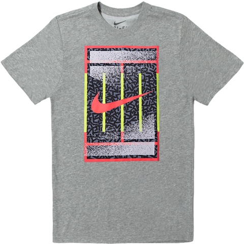 Nike Dri- Fit Cotton Court Men's Tennis Tee