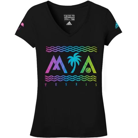 Adidas 60/40 Go To Perf Women's Tennis Tee