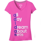 Adidas 60/40 Go To Perf Women`s Tennis Tee