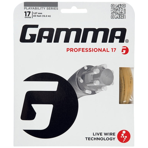 Gamma Professional 17 Tennis String Set