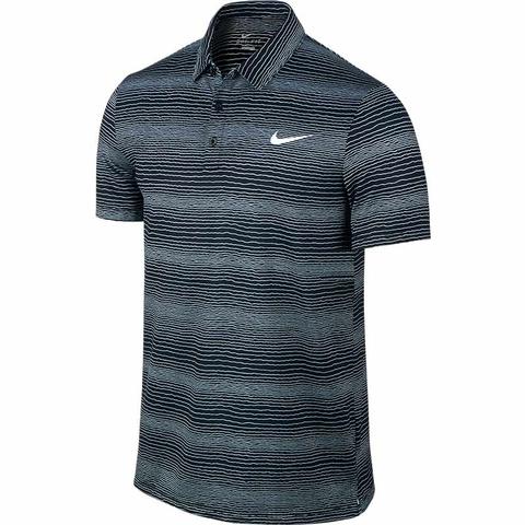 Nike Court Sphere Striped Men's Tennis Polo