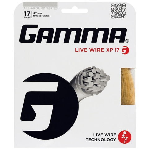 Gamma Live Wire Xp 17 Tennis String Set