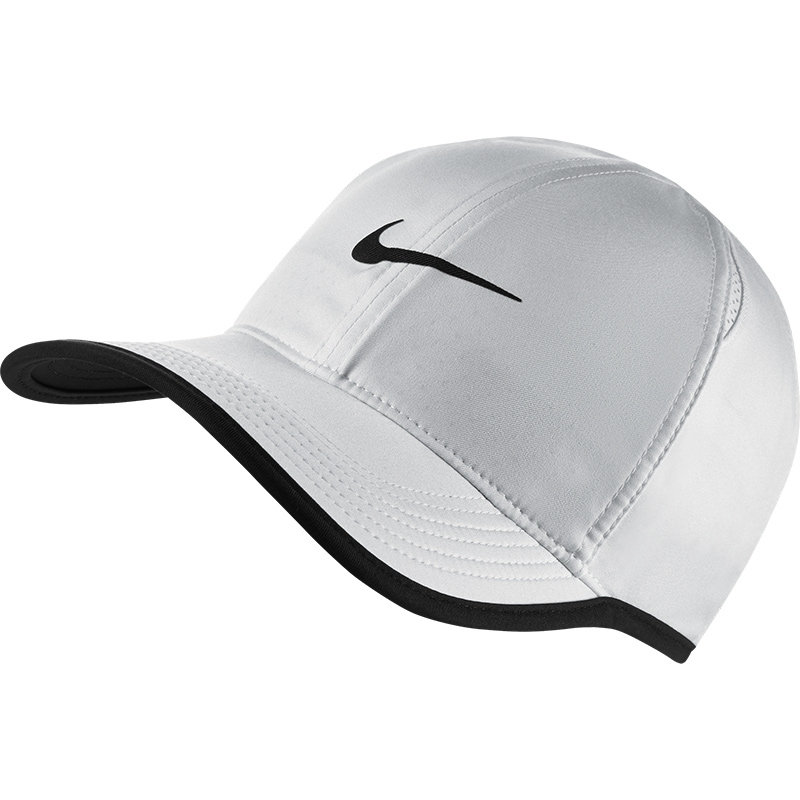 Nike Featherlight Men s Tennis Hat White fbec15f8322