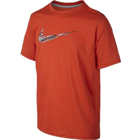 Nike Leg Swoosh Wl Camo Boy's Tee