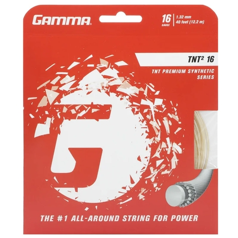 Gamma Tnt2 16 Tennis String Set