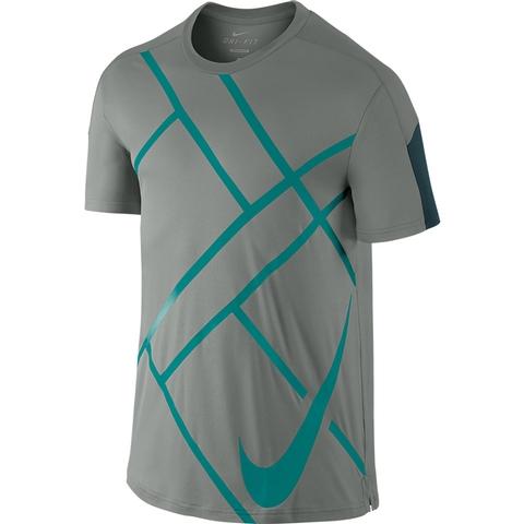 Nike Team Court Graphic Men's Tennis Crew