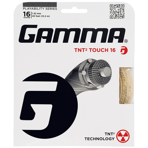 Gamma Tnt2 Touch 16 Tennis String Set