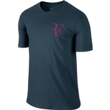 Nike Roger SS V-Neck Men`s Tennis Tee