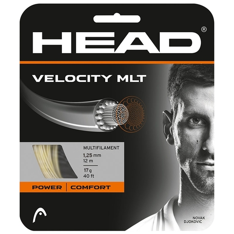 Head Velocity Mlt 17 Tennis String Set - Natural