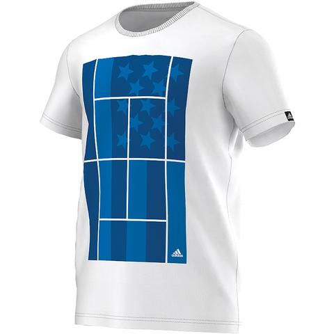 Adidas Us Open Tennis Men's Tennis Tee