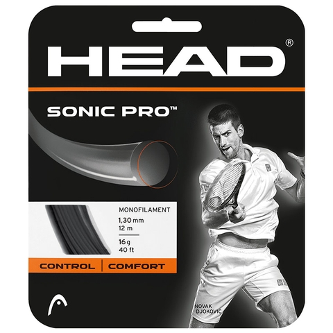 Head Sonic Pro 16 Tennis String Set - Black