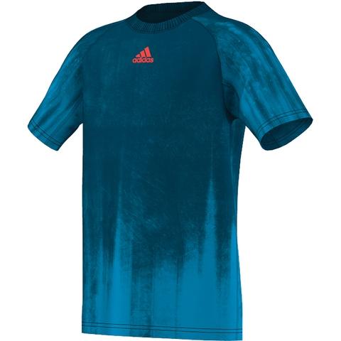 Adidas Adizero Boy's Tennis Tee
