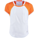 Fila Citrus Bright Girl`s Tennis Top