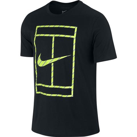 Nike Court French Stripe Men's Tennis Tee