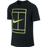 Nike Court French Stripe Men`s Tennis Tee