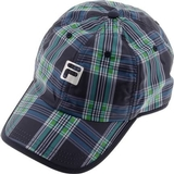 Fila Plaid  Men`s Tennis Hat
