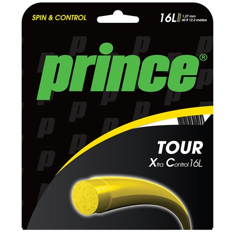 Prince Tour Xtra Control 16l Tennis String Set - Black