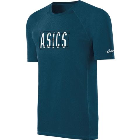 Asics Game- Set Match Men's Tennis Tee