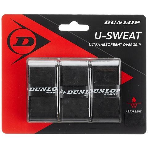 Dunlop U- Sweat 3 Pack Tennis Overgrip