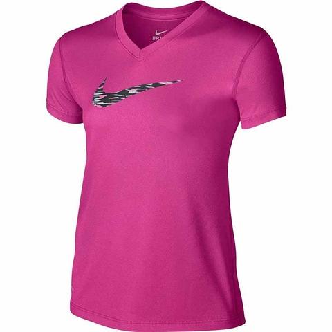 Nike Legend V- Neck Girl's Top