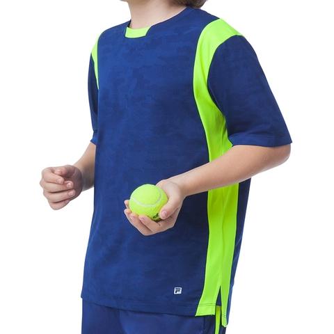 Fila Camo Boy's Tennis Crew