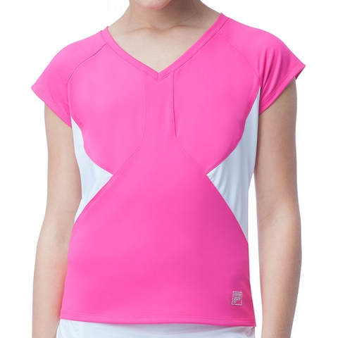 Fila Diva Girl's Tennis Top