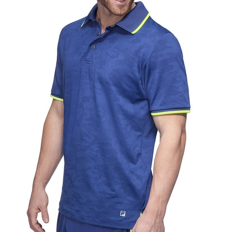 Fila Camo Men's Tennis Polo