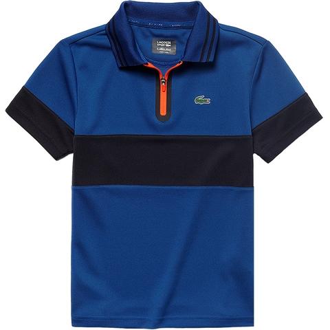 Lacoste Zip Ultra Dry Boy's Tennis Polo