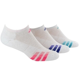 Adidas Variegated 3-Pack No Show Women`s Tennis Socks
