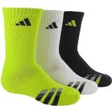 Adidas Striped 3 Pack Crew Junior's Tennis Socks