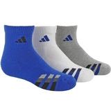 Adidas Cushion 3 Pack Quarter Junior's Tennis Socks