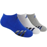 Adidas Cushion 3 Pack No Show Junior's Tennis Socks