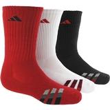 Adidas Striped 3-Pack Crew Junior`s Tennis Socks