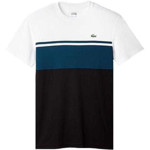 Lacoste Ultra Dry Color Block Men's Tennis Shirt