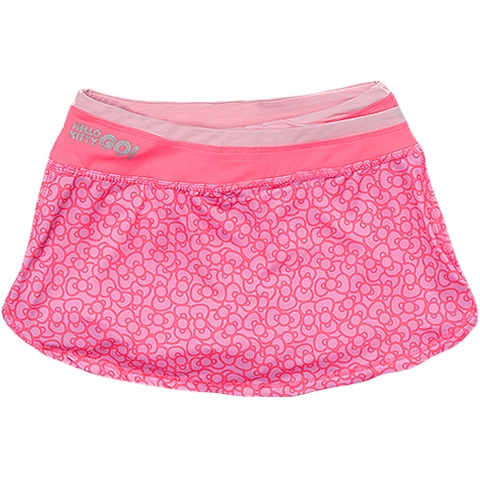 Hello Kitty Printed Girl's Tennis Skirt