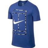 Nike Court Logo Ss Men's Tennis Tee