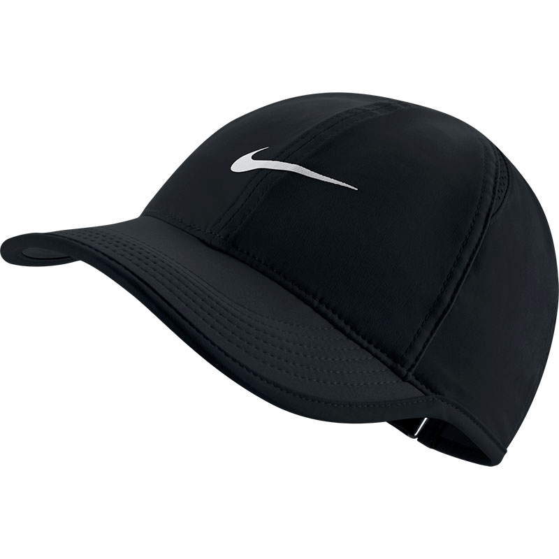 Nike Featherlight Women S Tennis Hat Black White