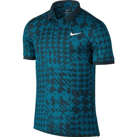 Nike Advantage Printed Men's Tennis Polo