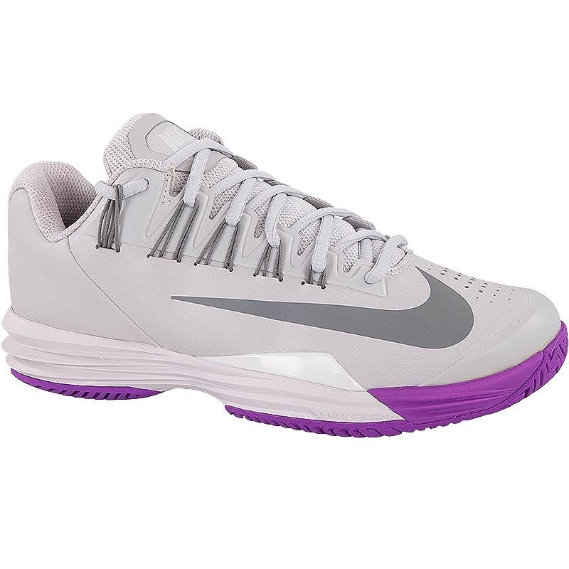 nike lunar ballistec 1 5 s tennis shoe silver