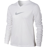 Nike Legend Swoosh V-Neck Girl`s Top