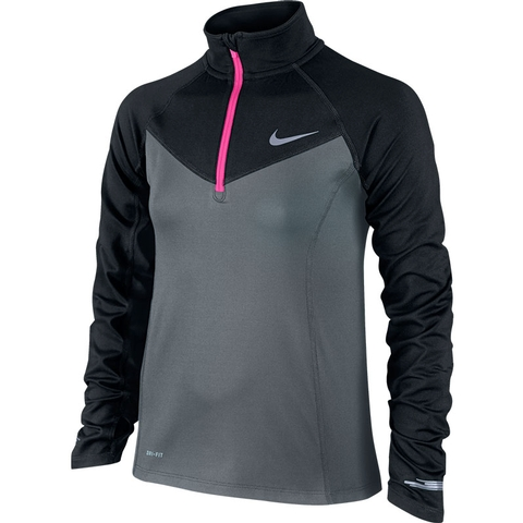 Nike Element Half- Zip Girl's Top