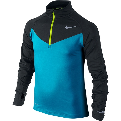 Nike Element Haf- Zip Long- Sleeve Boy's Top