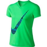 Nike Legend Swoosh Fill 1 V- Neck Girl's Top