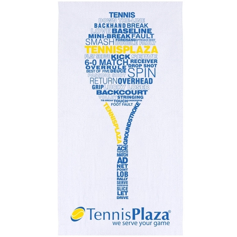 Tennis Plaza Tennis On Court Towel