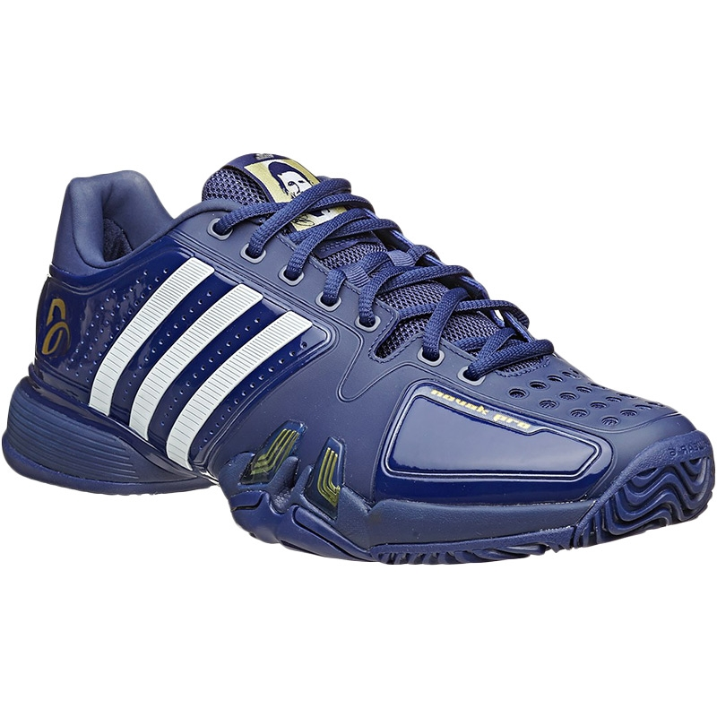 adidas novak pro s tennis shoe blue white