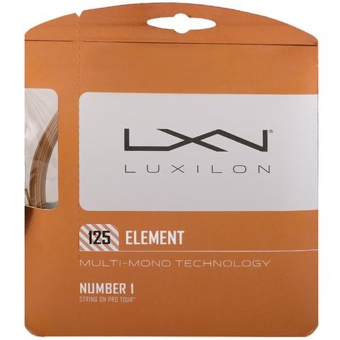 Luxilon Element 125 Tennis String Set