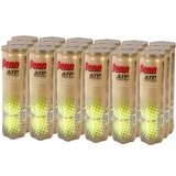 Penn ATP Extra Duty Tennis Ball Case - 4 Ball Can x 18