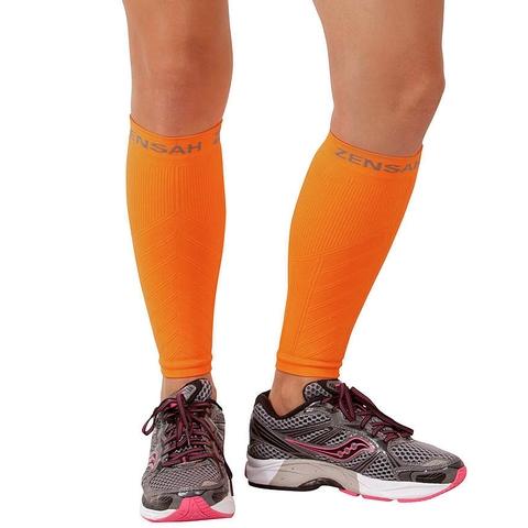 Zensah Leg Sleeve Neon Orange